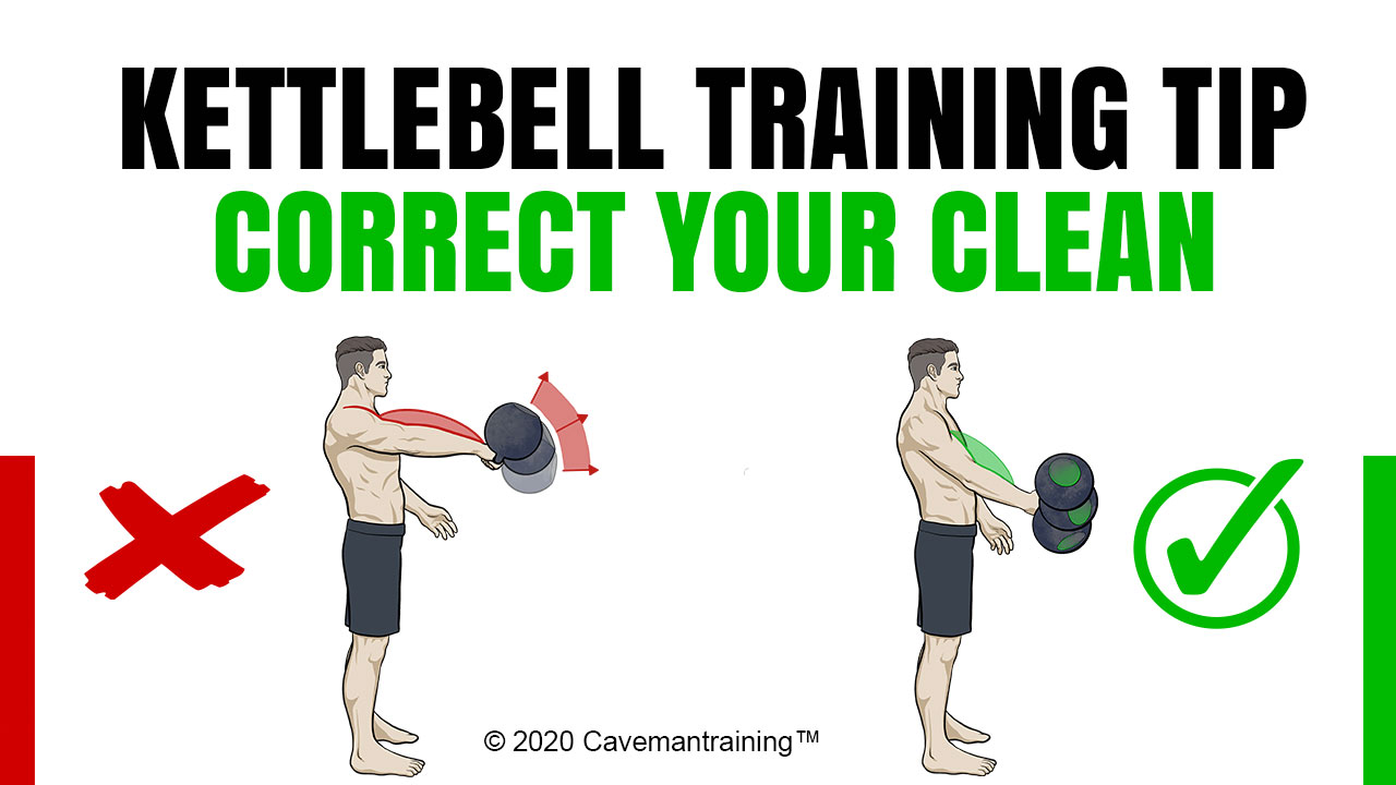 Correct your kettlebell clean