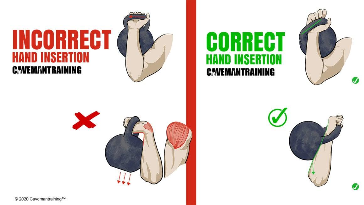 Kettlebell Correct Hand Insertion