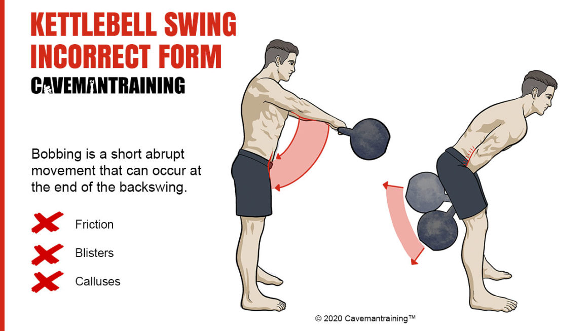 Kettlebell Swing Incorrect Form