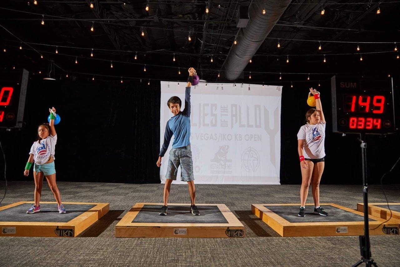 Kettlebell Sport for Kids