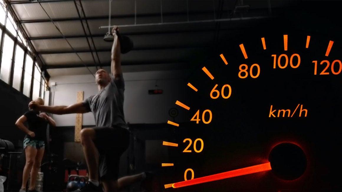 Kettlebell TGU Speed