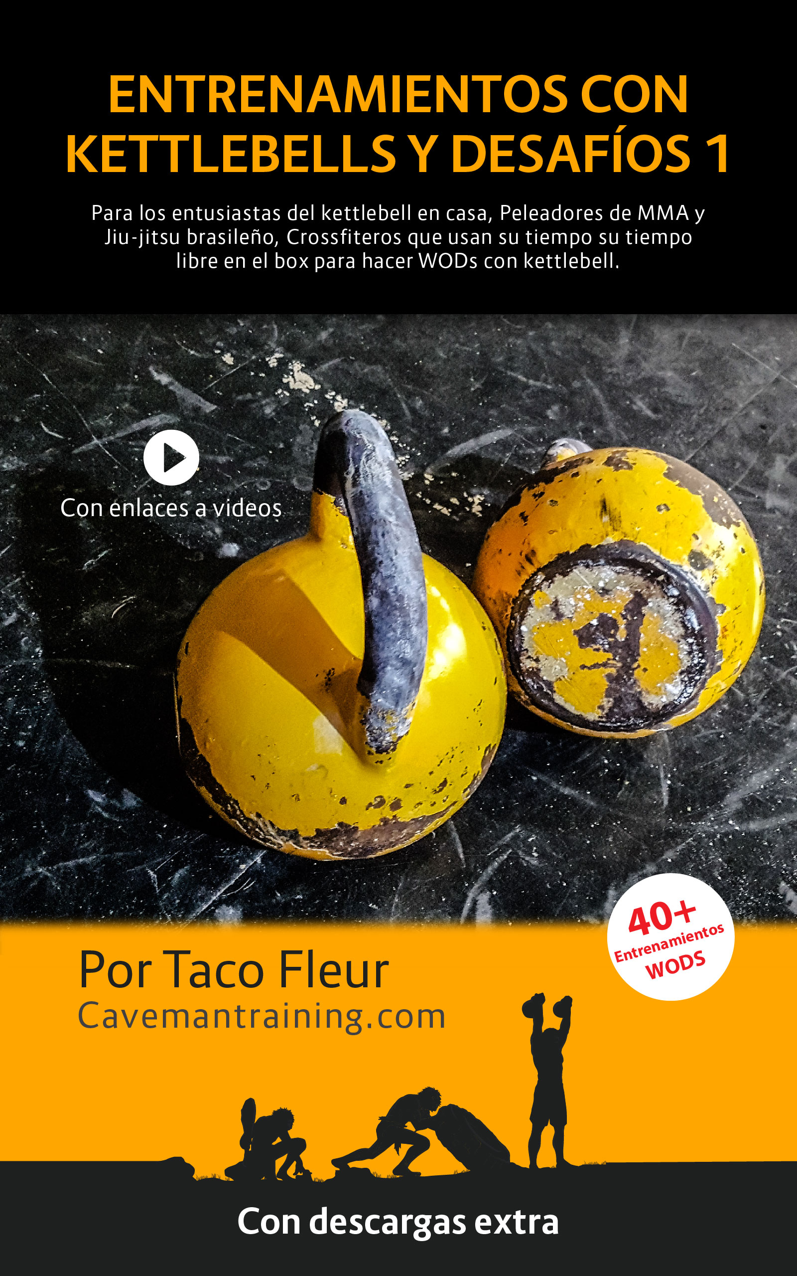 kettlebell workouts and challenges 1 ebook cover spanish 2020
