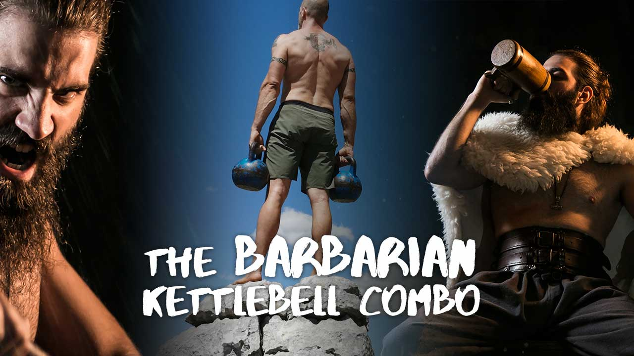 Barbarian Kettlebell Combo