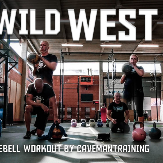 Kettlebell Workout Wild West WOD