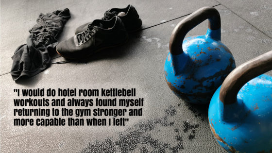 Hotel Room Kettlebell Workouts