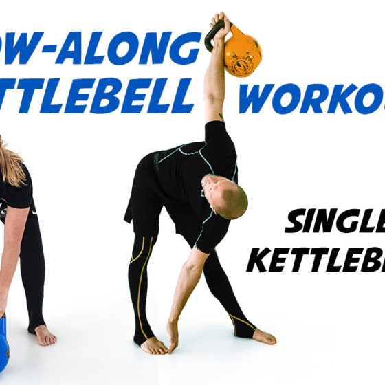 Follow-Along Single Kettlebell Workout