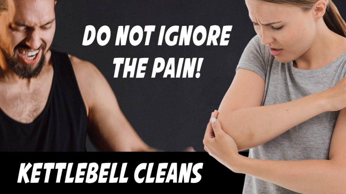 Kettlebell Clean Pain