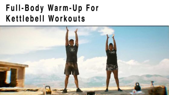 Warm-up for kettlebells