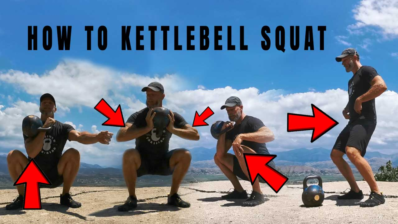 How To Kettlebell Squat