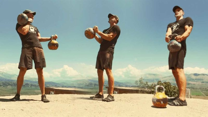 How To Kettlebell Biceps Curl